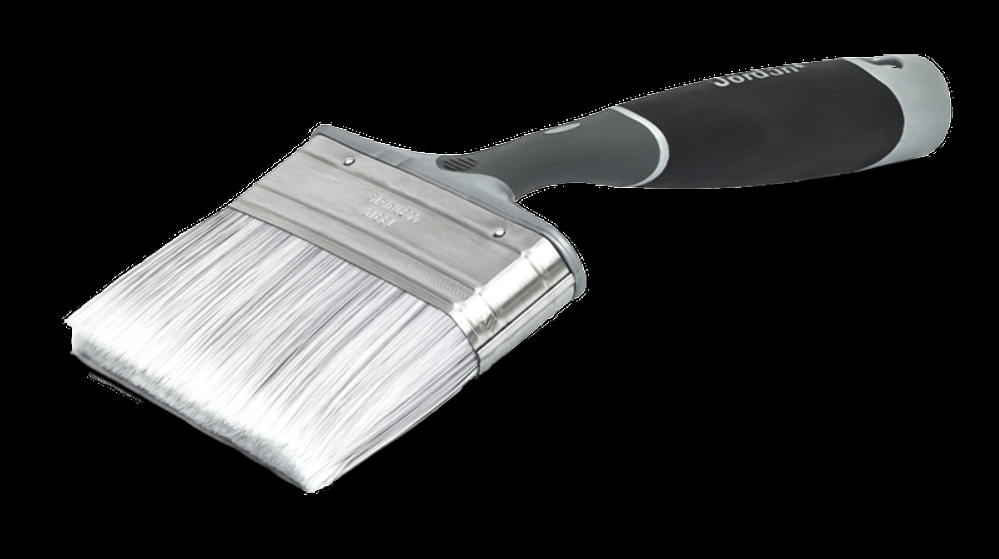 Bred pensel på 100mm til bruk på panelvegger og tak