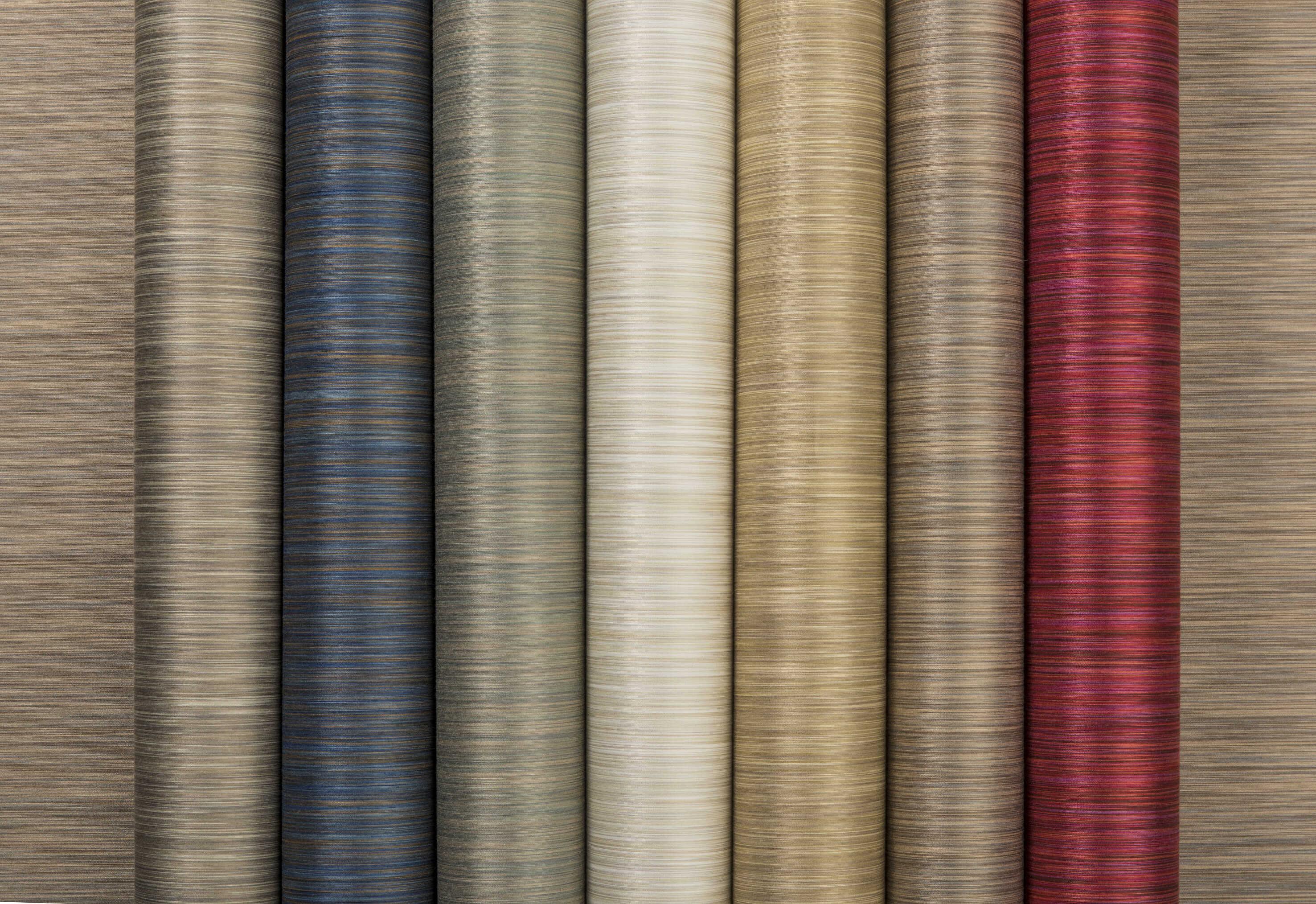 Tekstiltapet i ulike farger